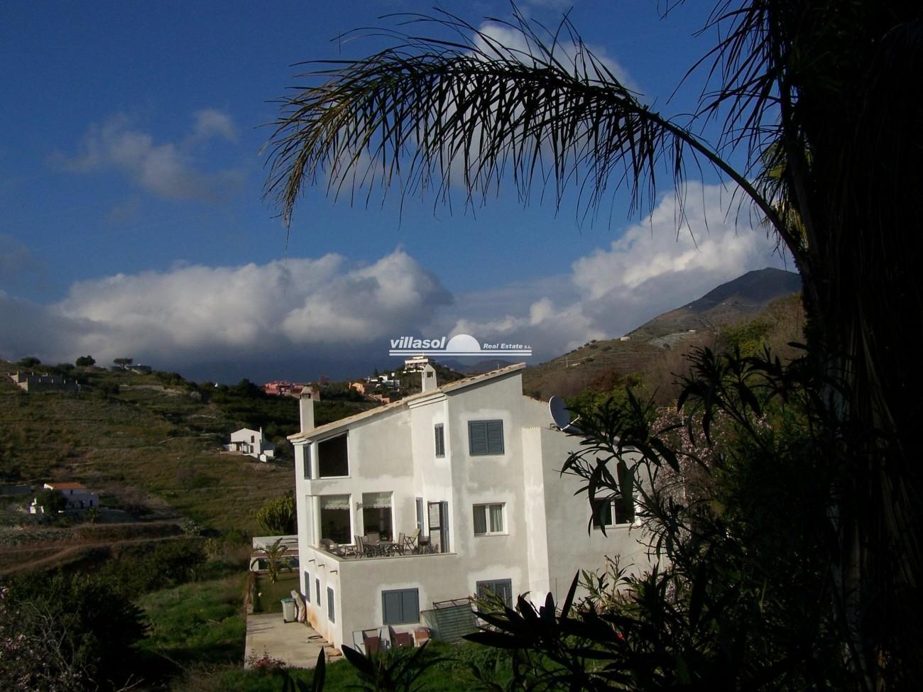 Villa for sale in san nicol s almu ecar granada spain for Villas granada ii