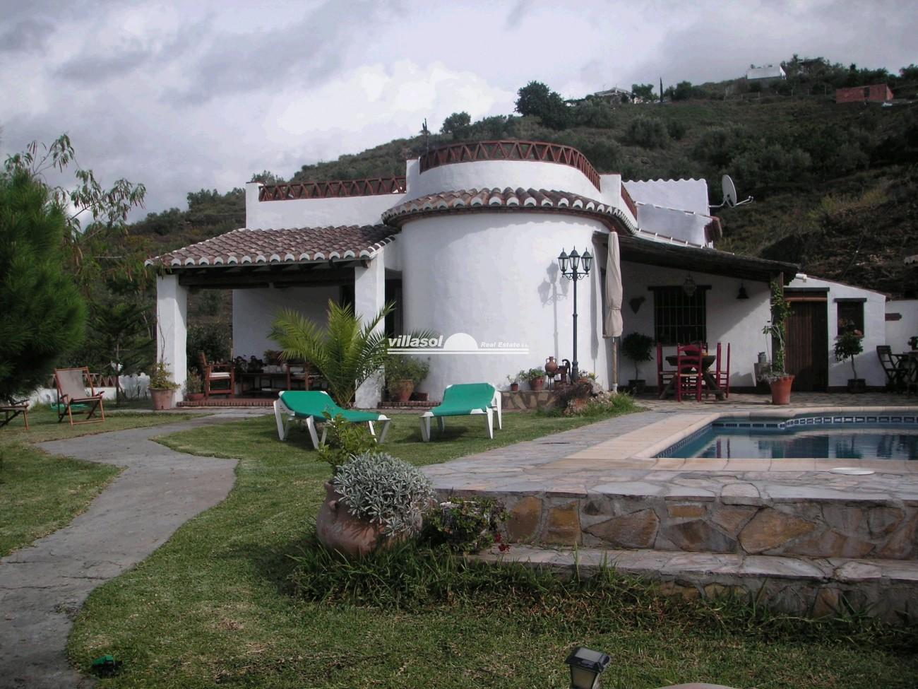 Villa For Rent In Frigiliana M Laga Spain # Muebles Jardin Malaga